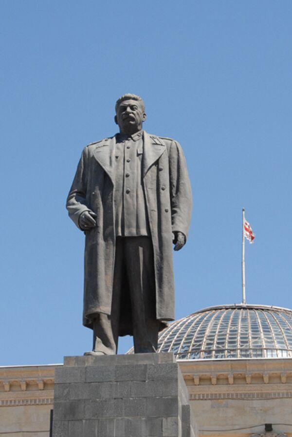 Памятник Сталину. Архив