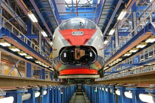 Высокоскоростной поезд Сапсан серии Velaro RUS