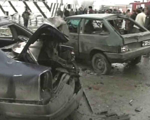 Смертник взорвал себя у поста ДПС в Назрани. Видео с места событий