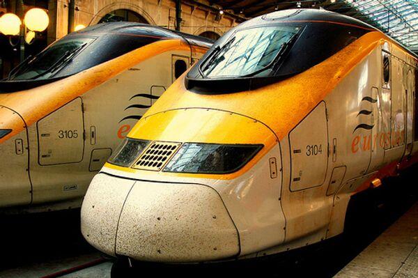 Поезд Евростар. Архивное фото