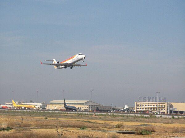 Аэропорт в Испании. Архив