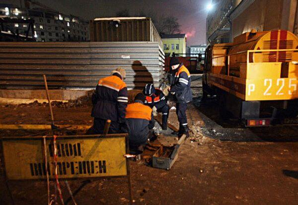 Жители Новосибирска начали получать газ после аварии на газопроводе