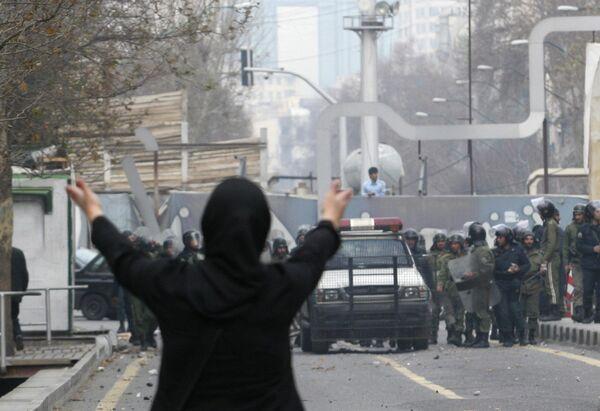 Беспорядки в Тегеране. Архив
