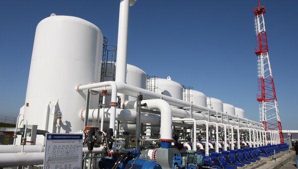 Специализированный морской нефтеналивной порт Козьмино в Приморье. Архивное фото
