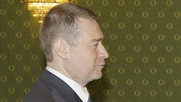 Президент Республики Марий Эл Леонид Маркелов. Архив