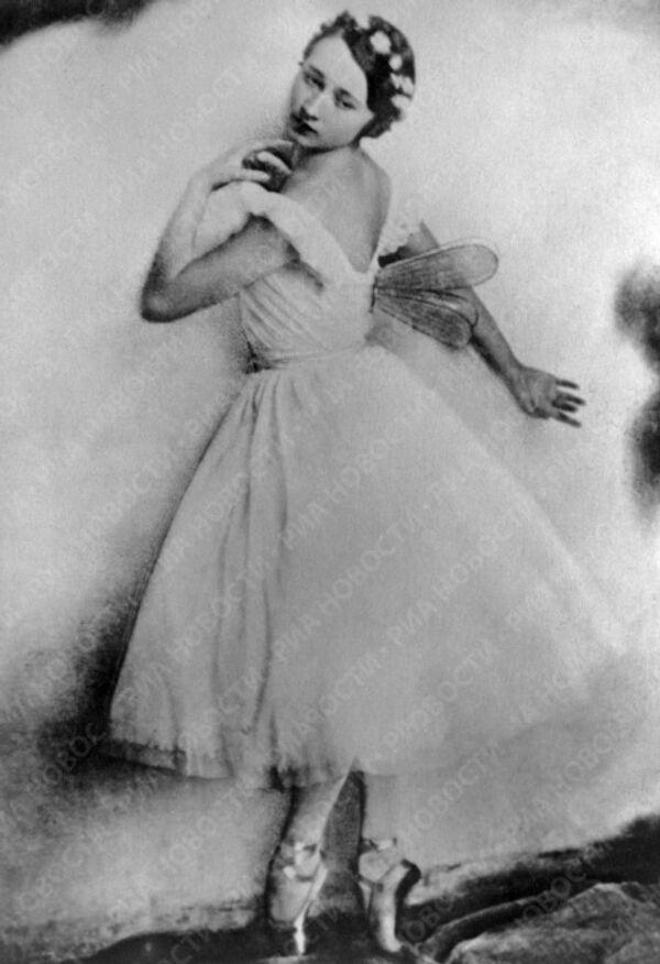 Балерина Галина Уланова