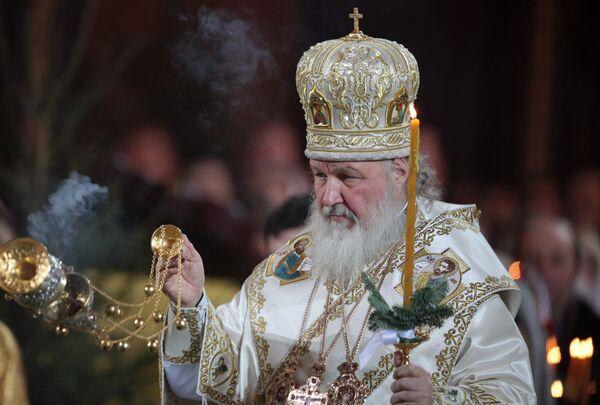 Святейший Патриарх Московский и всея Руси Кирилл. Архив