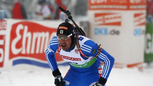 Российский биатлонист Николай Круглов