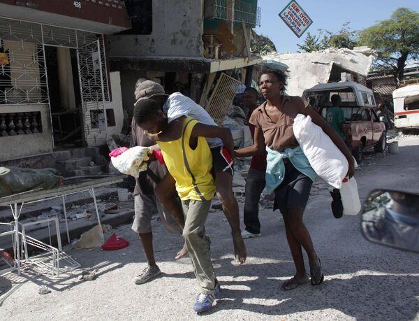 Последствия мощных землетрясений на Гаити