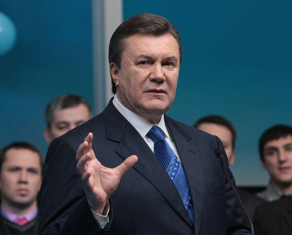 Кандидат в президенты Украины Виктор Янукович