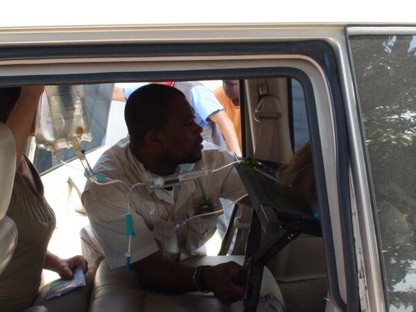Госпиталь на базе ООН на Гаити