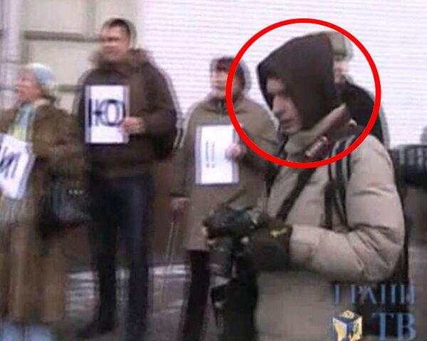 Видео Грани.ру, доказывающее невиновность фотографа РИА Новости