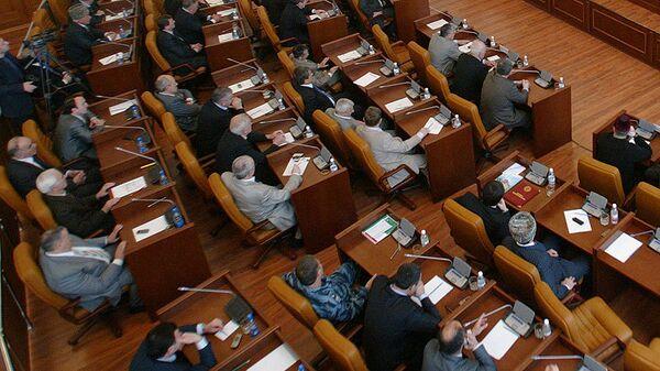 Заседание парламента и правительства Чечни