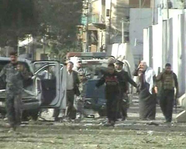 Разрушения и паника в Багдаде после серии мощных терактов