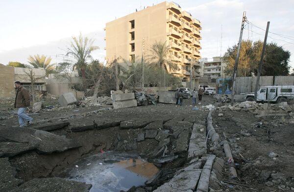 Взрыв в Багдаде. Архив