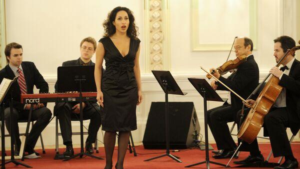 Оперная певица Светлана Касьян. Архивное фото