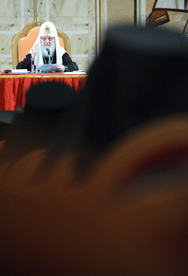 Архиерейское совещание Русской Православной Церкви в храме Христа Спасителя