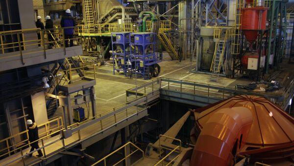 На Северском трубном заводе, входящем в ТМК. Архивное фото
