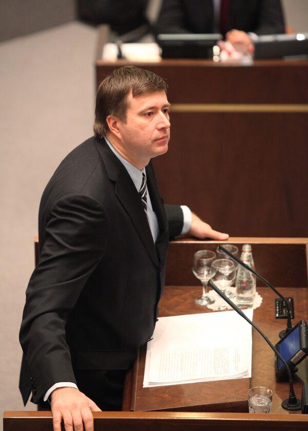 Заседание Совета Федерации РФ. 3 феевраля 2010 года
