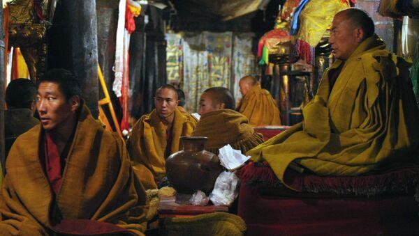 В монастыре Ташилумпо