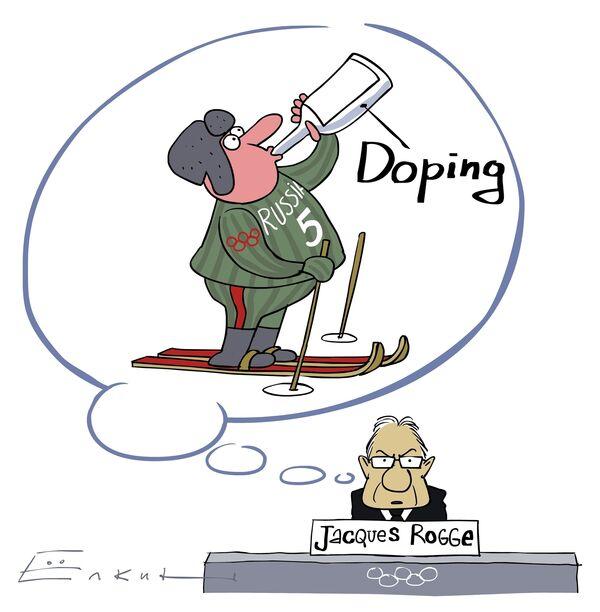 Рогге встревожен вопросом допинга