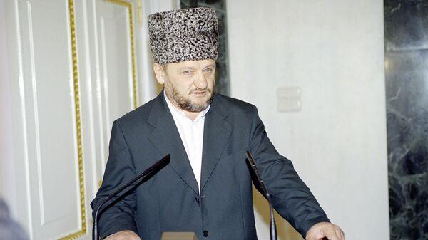 Глава администрации Чечни Ахмат Кадыров