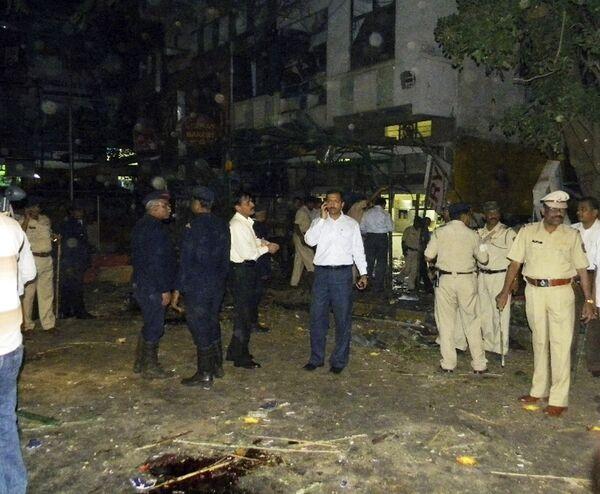 Теракт произошел в субботу в индийском городе Пуна, погибли как минимум восемь человек