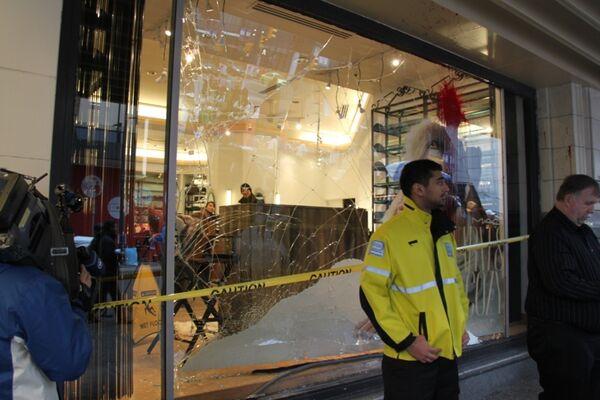 Беспорядки в центре Ванкувера