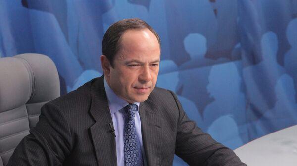 Первый вице-премьер правительства Украины Сергей Тигипко. Архив