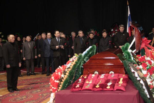 Похороны Олимпийского чемпиона Романа Дмитриева
