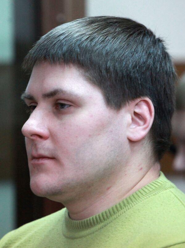Бывший милиционер Роман Жиров, сбивший насмерть беременную женщину в мае 2009 года. Архив