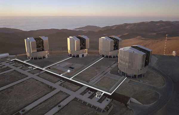 Телескопы VLT - Very Large Telescope