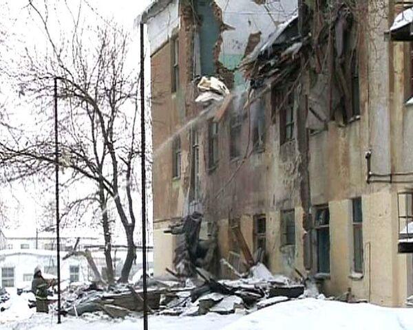 Взрыв на лесохимическом заводе на Урале