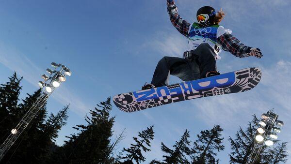 Американский сноубордист Шон Уайт. Архивное фото