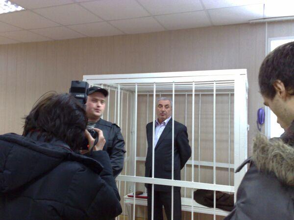 Александр Солодкин-старший в зале суда