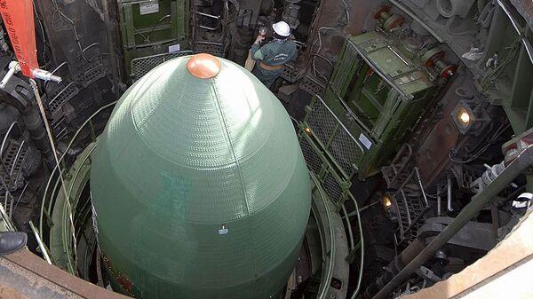 Подготовка к запуску ракеты