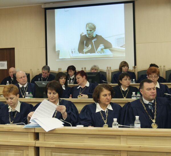 Заседание Высшего административного суда Украины