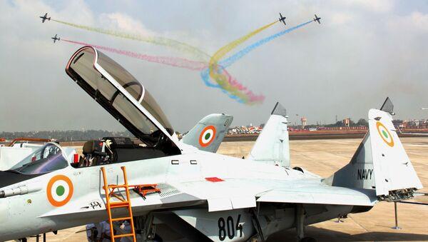 Российские МиГ-29К приняты на вооружение Индии. Архивное фото