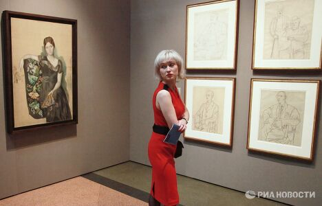 Открытие выставки Пикассо в России в ГМИИ им.А.С.Пушкина