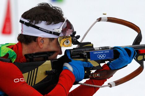 Олимпиада-2010. Биатлон. Мужчины. Спринтерская гонка на 10 км
