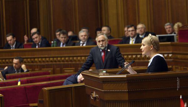 Премьер-министр Украины Юлия Тимошенко. Архив