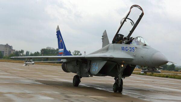 Самолет МиГ-35. Архив