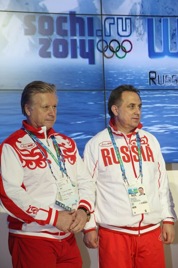 Леонид Тягачев, Виталий Мутко