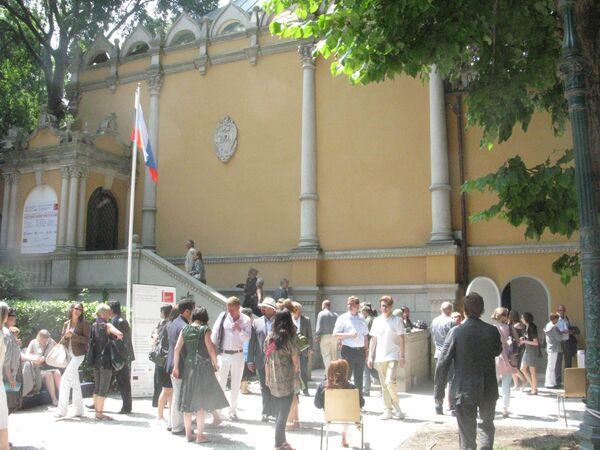Российский павильон на биеннале в Венеции