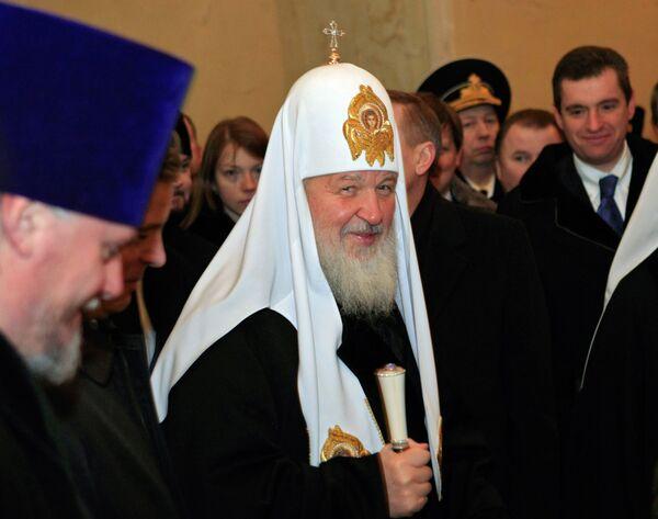 Патриарх Московский и всея Руси Кирилл посетил в Кронштадте Морской собор