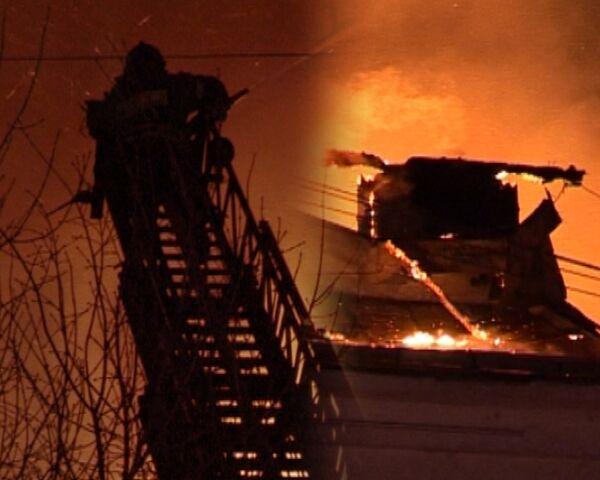Пожар в ночном клубе Опера. Видео с места событий