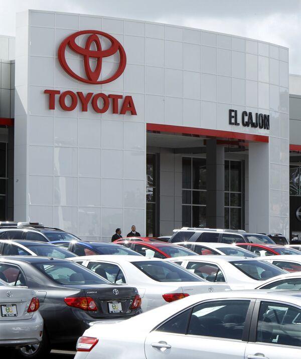 Представительство Toyota в Калифорнии