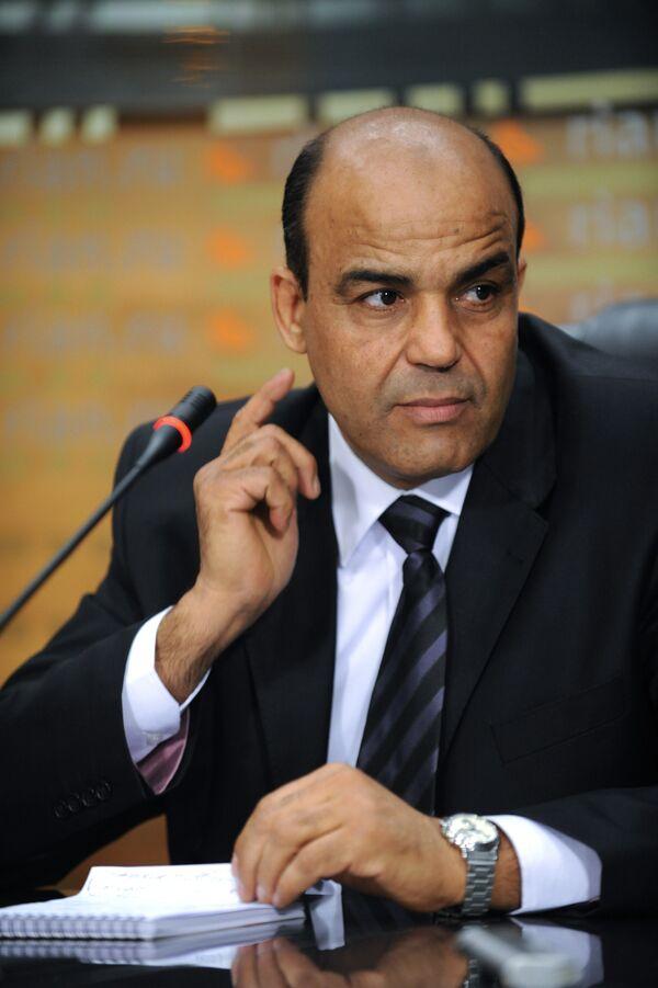Секретарь народного Бюро Социалистической Народной Ливийской Арабской Джамахирии в Москве Амер Гариб. Архив