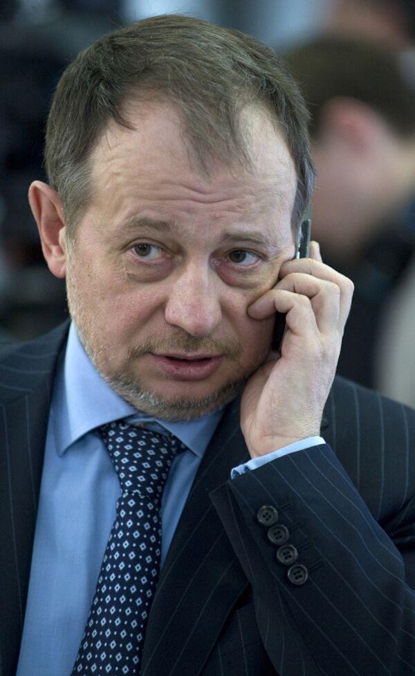 Владимир Лисин на заседании комиссии при президенте РФ по модернизации и технологическому развитию экономики РФ