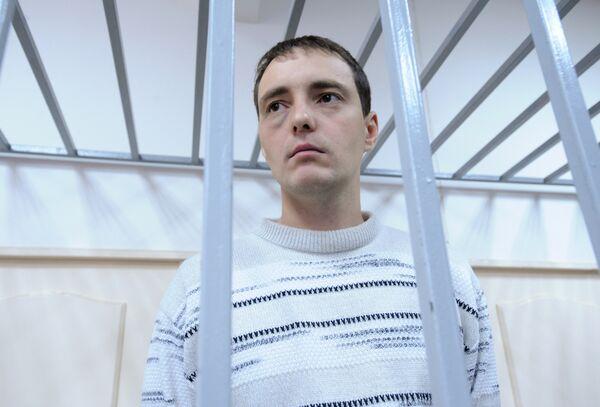 Евгений Скобликов в зале заседания Кузьминского суда Москвы. Архив